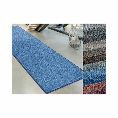 Marcelle Tufted Light Blue Rug Mercury Row Rug Size: Runner