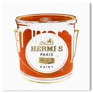 'French Luxe Paint' Graphic Art Print on Canvas by Oliver Gal