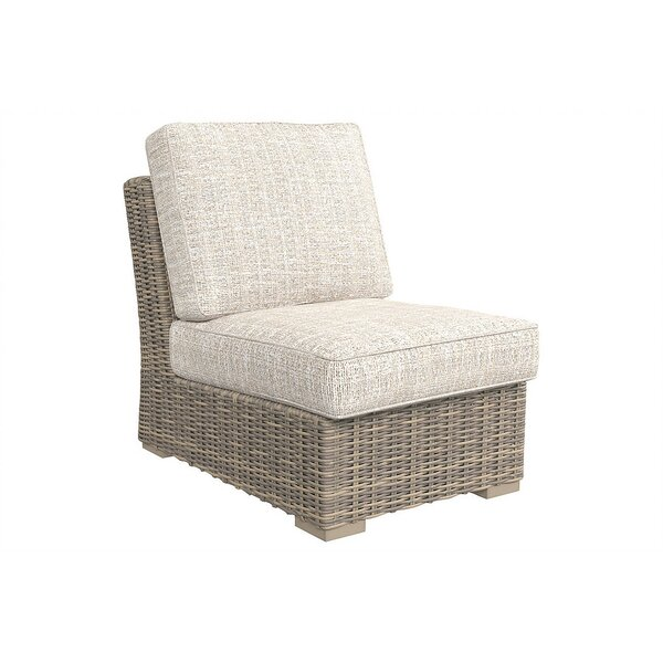 Suzan Patio Chair with Cushions by Bungalow Rose Bungalow Rose
