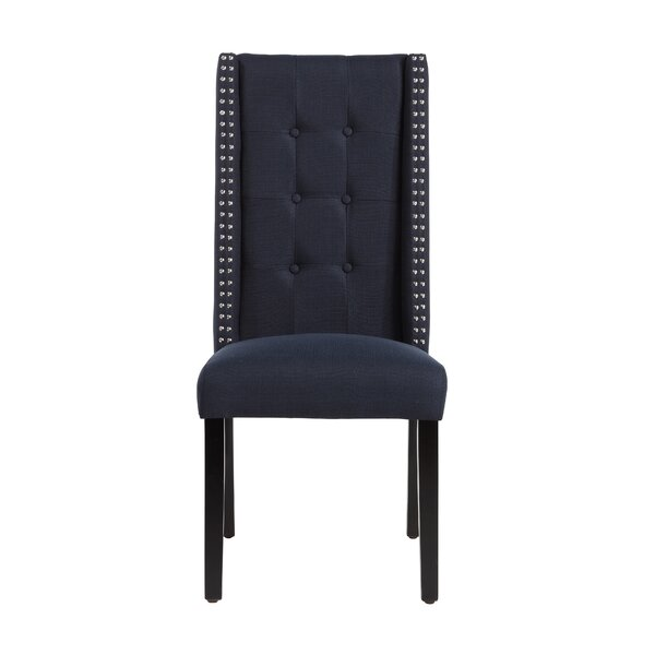 Gingerich Upholstered Dining Chair by Three Posts