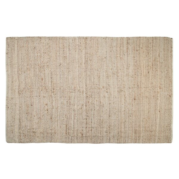 One-of-a-Kind Preusser Chevron Jagged Hand Woven Natural Are Rug by Union Rustic