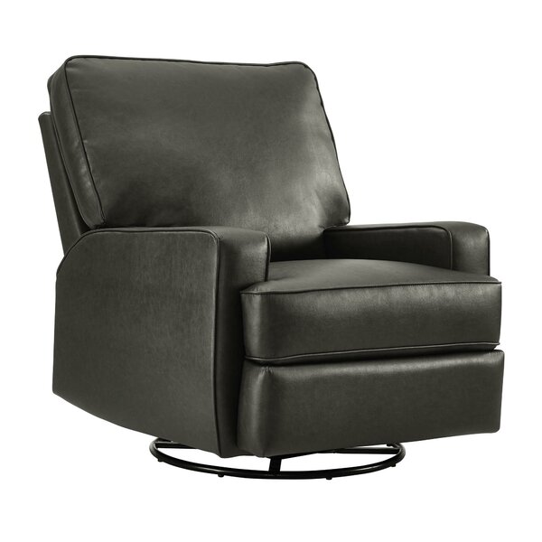 Rashida Gliding Manual Swivel Recliner by Darby Home Co