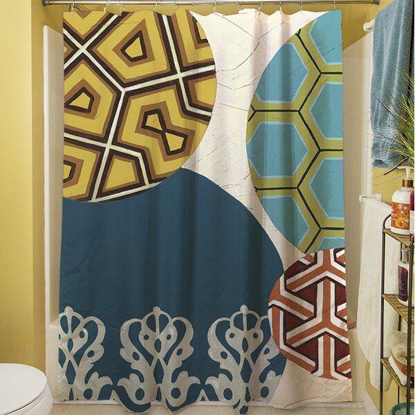 Paper Lanterns II Shower Curtain by Manual Woodworkers & Weavers