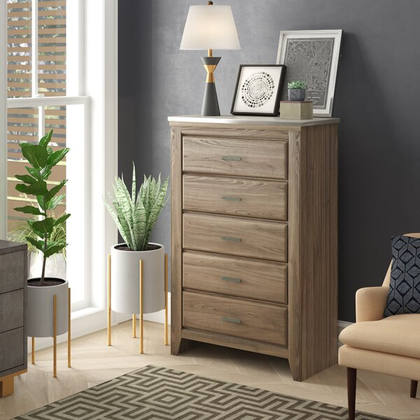 Aberdeen 5 Drawer Chest by Latitude Run