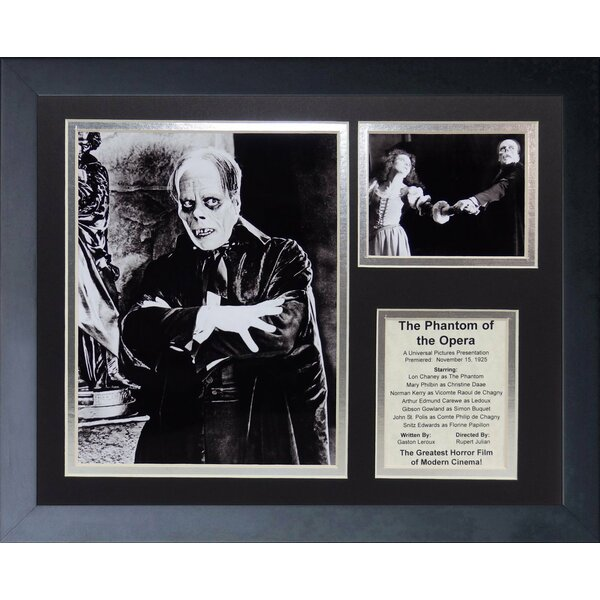 The Phanton of the Opera -1925 Framed Photographic Print by Legends Never Die