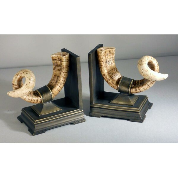 Horn Bookends by Judith Edwards Designs