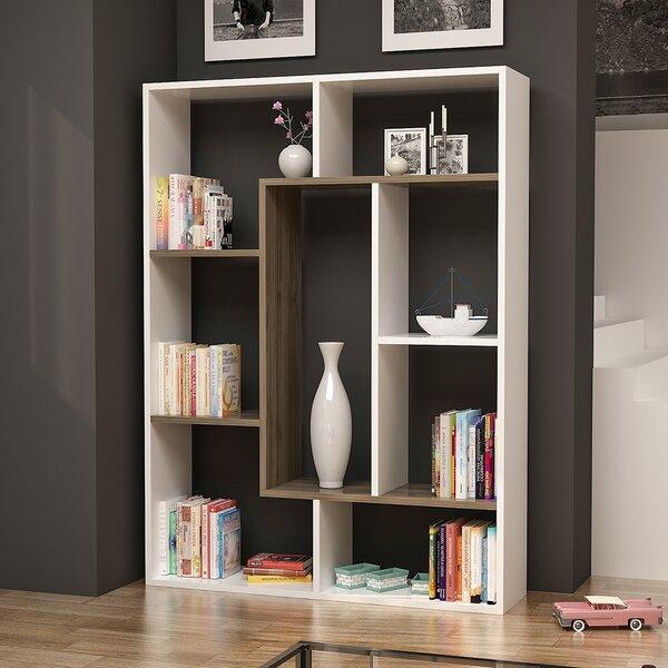 Discount Chrisha Geometric Bookcase