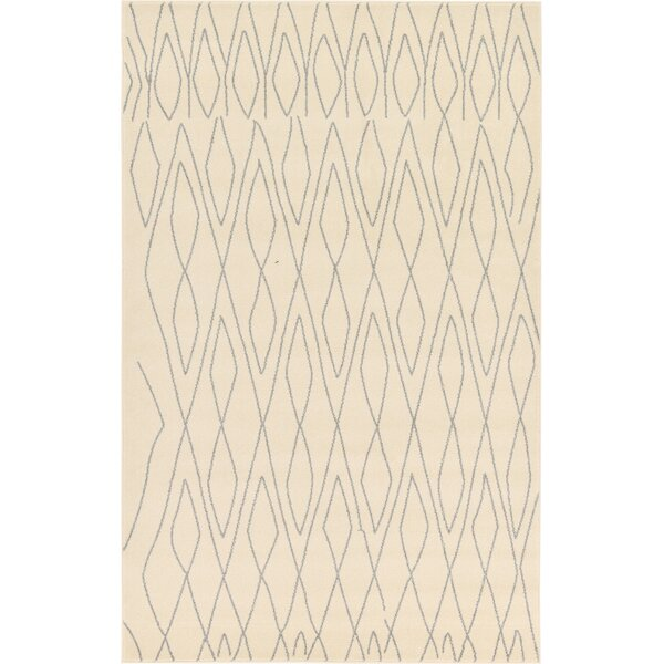 Doretha Ivory Area Rug by Zipcode Design