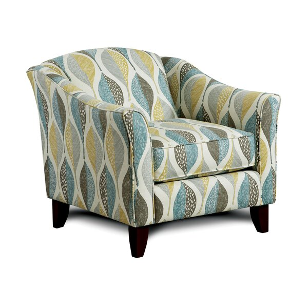 Primavera Upholstered Armchair by Hokku Designs