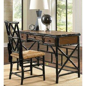 Amazing Coastal Chic Writing Desk And Chair Set