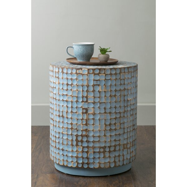 Sherlyn Traditional End Table by Beachcrest Home