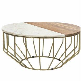 Blankenship Gold Leaf Coffee Table