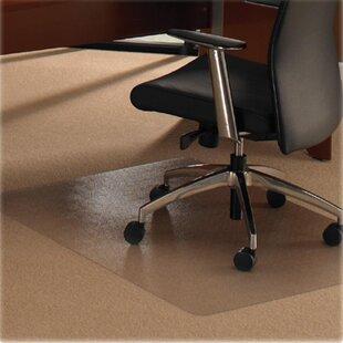 high pile carpet chair mats you ll love wayfair