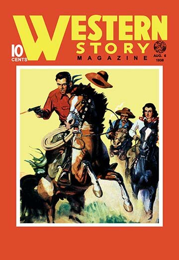 Western Story Magazine: On the Move Vintage Advertisement by Buyenlarge