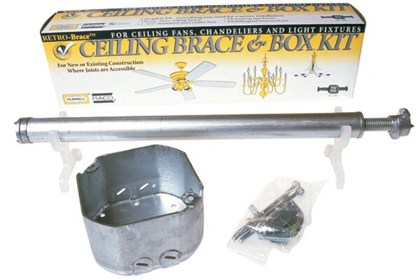 Remodeling Brace For Lighting Fixture Or Ceiling Fans by HubbellRaco