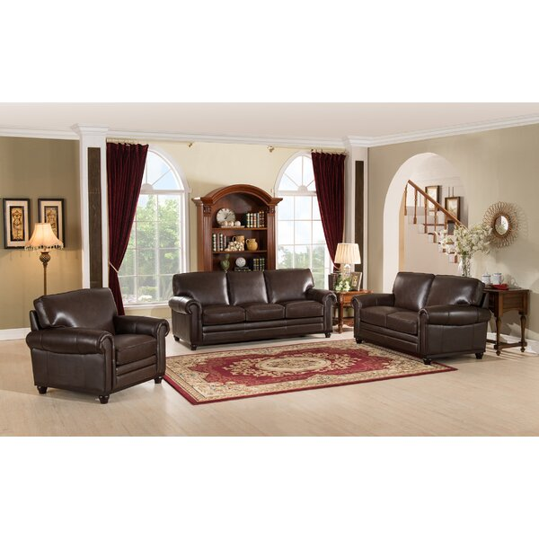 Coventry Leather Configurable Living Room Set By Westland And Birch