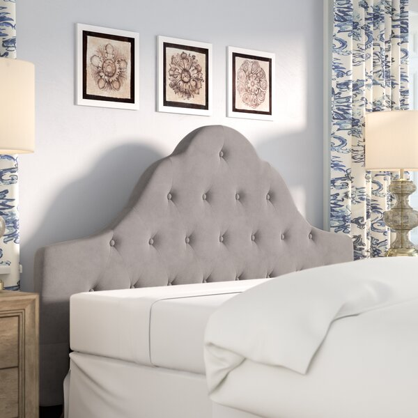 Grimsby Upholstered Panel Headboard by Lark Manor