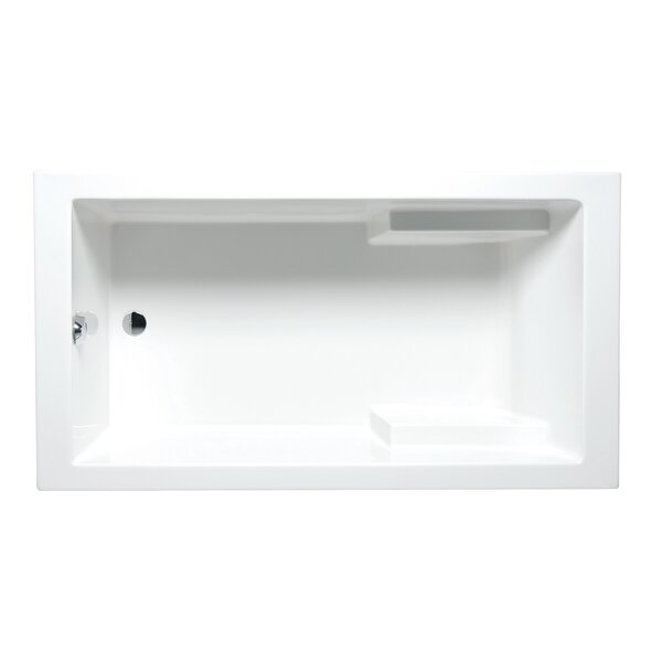 Nadia 72 x 36 Drop in Soaking Bathtub by Americh