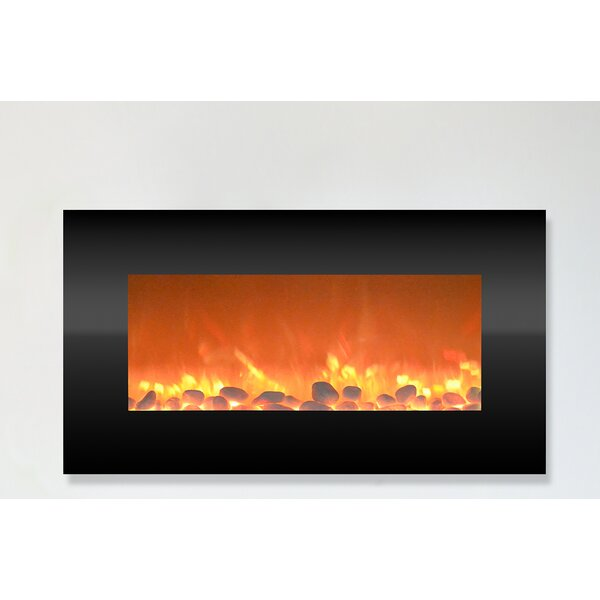Hyler Wall Mounted Electric Fireplace by Orren Ellis Orren Ellis