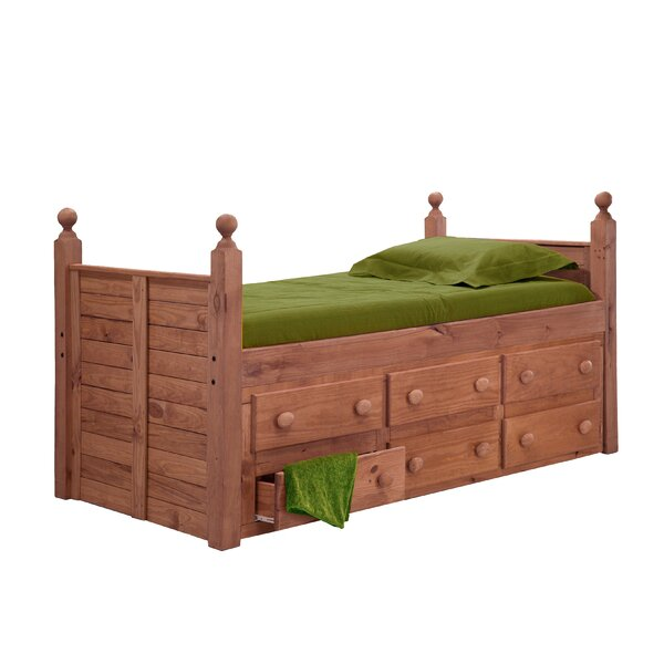 Churchton Twin Mates Bed with Drawers by Harriet Bee