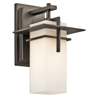 Reviews Sulphur 1-Light Outdoor Sconce By Loon Peak