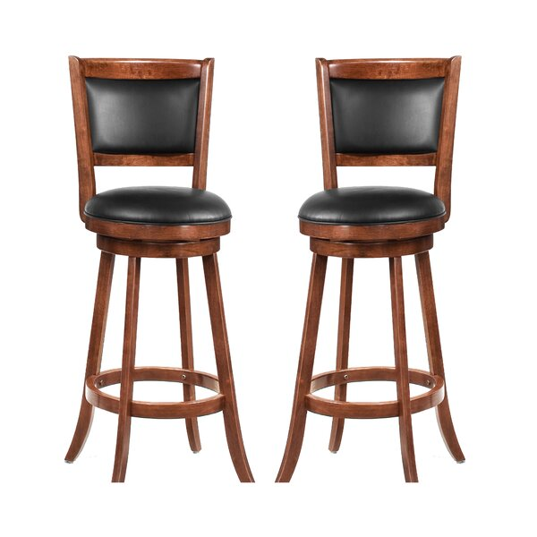 Jackman 29 Swivel Bar Stool (Set of 2) by Wildon Home ®