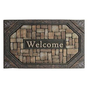 Welcome Stone Engraved Doormat