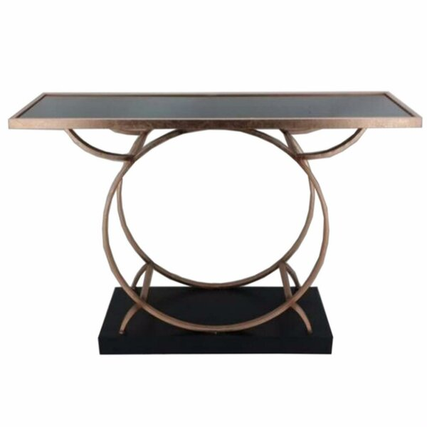 Frenette Metal Console Table by Everly Quinn