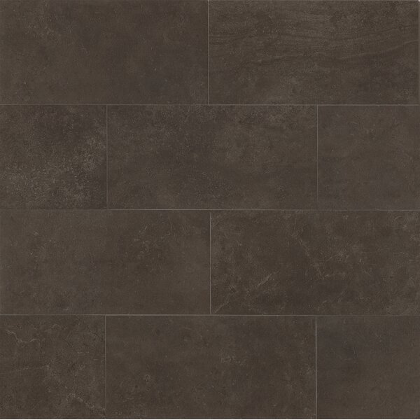 Hudson 18 x 36 Porcelain Field Tile in Noir by Grayson Martin
