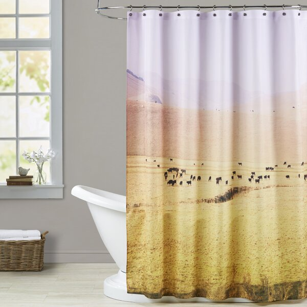 Mina Teslaru Coastal Farm Shower Curtain by Brayden Studio