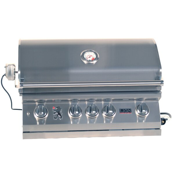 BBQ Built-In Gas Grill by Lion Premium Grills