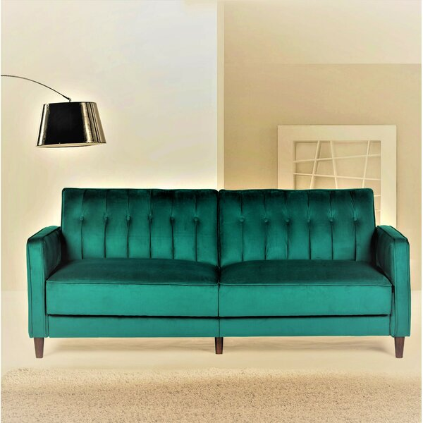 New Look Style Cornell Sofa Bed by Mercer41 by Mercer41