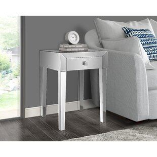 Broadbent End Table with Storage