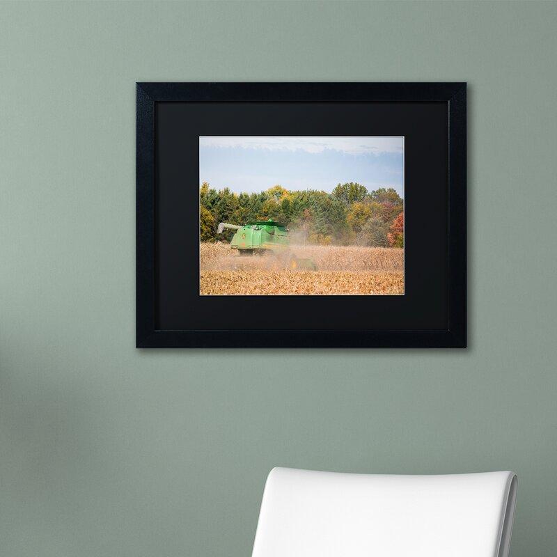 Trademark Art \'John Deere\' by Jason Shaffer Framed Photographic ...