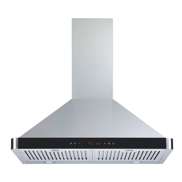 30 450 CFM Convertible Wall Mount Range Hood by Winflo