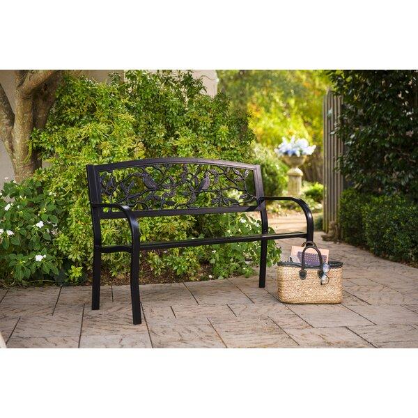 Jada Cardinals Aluminum Garden Bench by Rosalind Wheeler