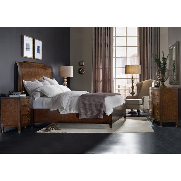 Skyline Platform/Sleigh Bed Rails by Hooker Furniture