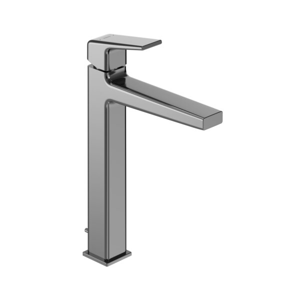 Single Handle Vessel Bathroom Faucet With Drain Assembly And Comfort Glide Technology By Toto