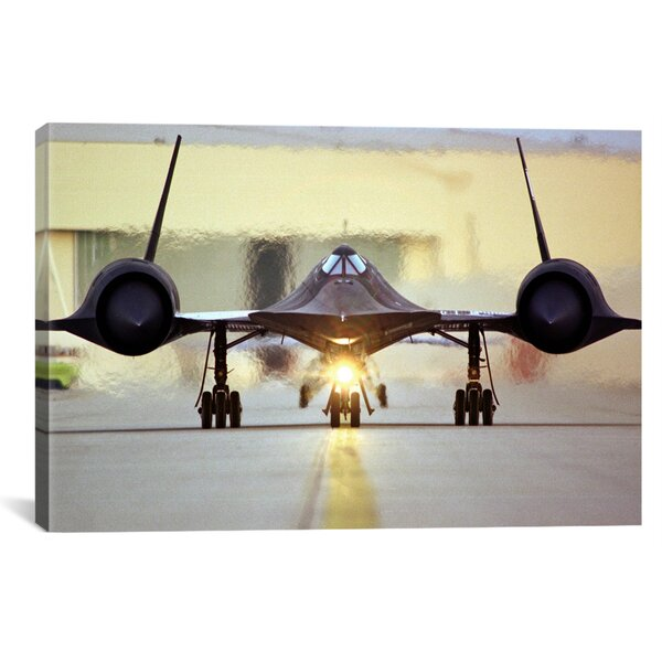 Astronomy and Space ''Lockheed SR-71 Blackbird'' Photographic Print on Canvas by iCanvas