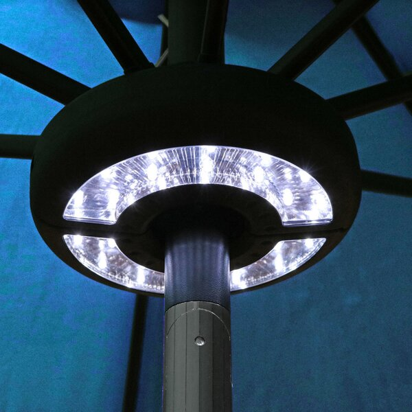 Brionna Patio Umbrella LED Lighting by Freeport Park
