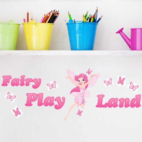 Fairy Play Land Wall Decal by Style and Apply