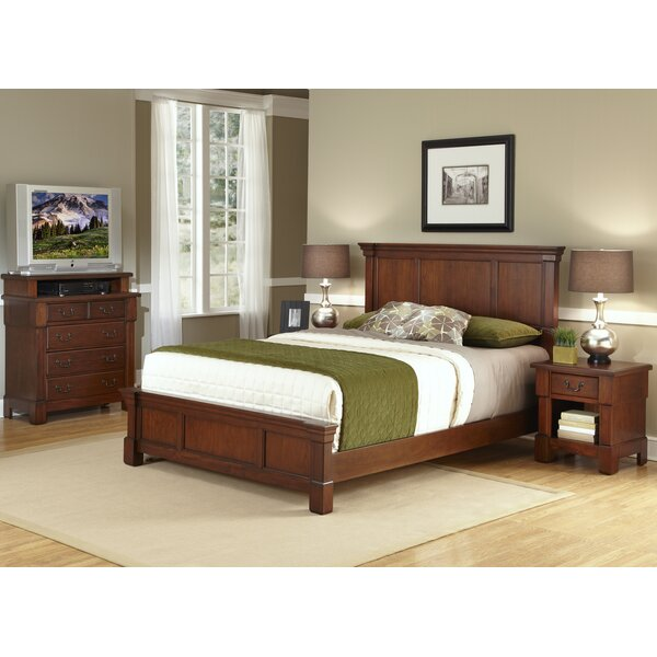 Cargile Panel 3 Piece Bedroom Set by Darby Home Co