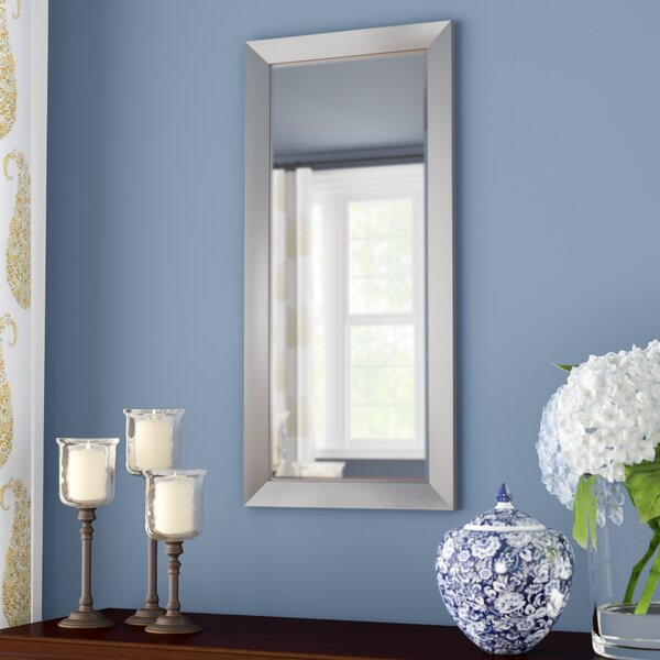 Eads Rectangle Stainless Framed Accent Wall Mirror by Red Barrel Studio