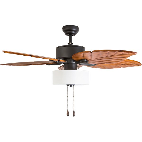 52 Everetts 5 Blade LED Ceiling Fan by Bay Isle Home