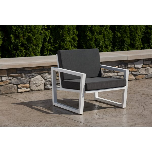 Waubun Patio Chair with Sunbrella Cushions by Brayden Studio