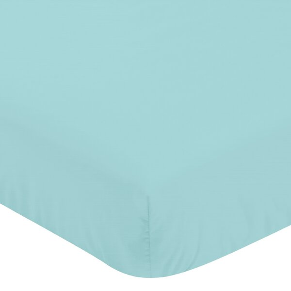 Feather Fitted Crib Sheet by Sweet Jojo Designs
