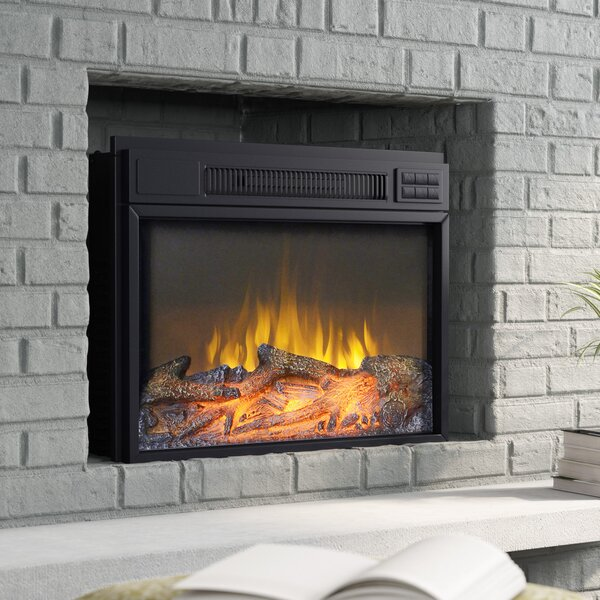 Jenifer Electric Fireplace Insert by Zipcode Desig