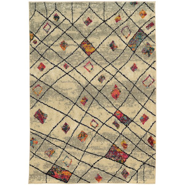 Marquis Ivory Area Rug by Bungalow Rose