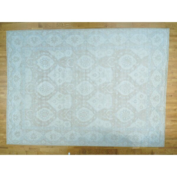 One-of-a-Kind Bearer Stone Wash Hand-Knotted Wool Area Rug by Isabelline