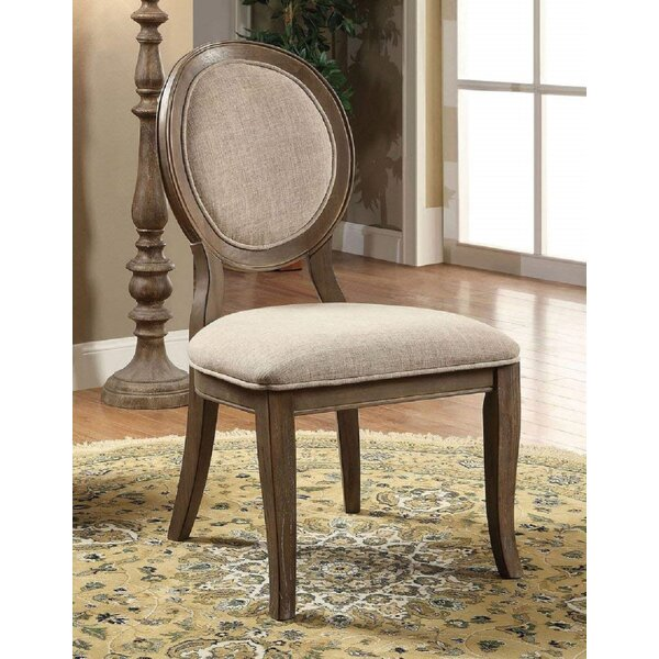 Alastair Upholstered King Louis Back Side Chair In (Set Of 2) By Foundry Select